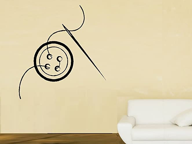 Amazon.com: Sewing Button Large ~ Wall Decals Sewing Room ~ 22\