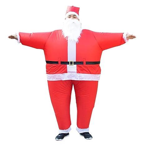 Ahomi Divertida de Navidad Mostrar Vestuario Papá Noel ...