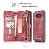 AKHVRS Galaxy S8 Wallet Case,Handmade Premium