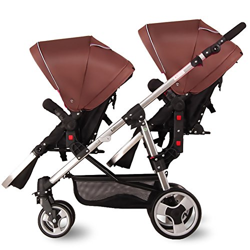 Cheap Double Stroller For Infant And Toddler - 9