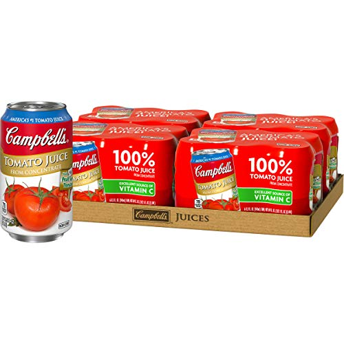 Campbell's Tomato Juice, 11.5 oz. Can, 6 Count (Pack of 4) (Tomato Juice Organic)