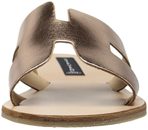 Women's Gold Sandal Rose Greece Flat Steve Madden w7pCgqxn1x