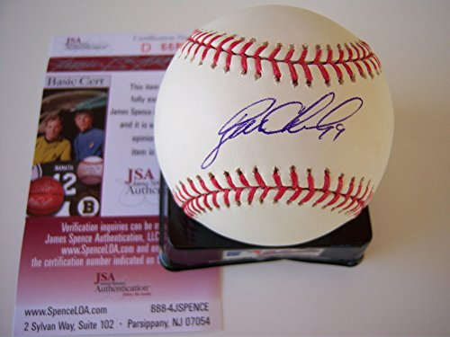 Ryan Church Mets JSA Signed MLB Baseball - Authentic Signed Autograph