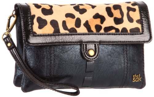 The SAK Pax 3-In-1 1000037419 Clutch,Black Leopard,One Size, Bags Central
