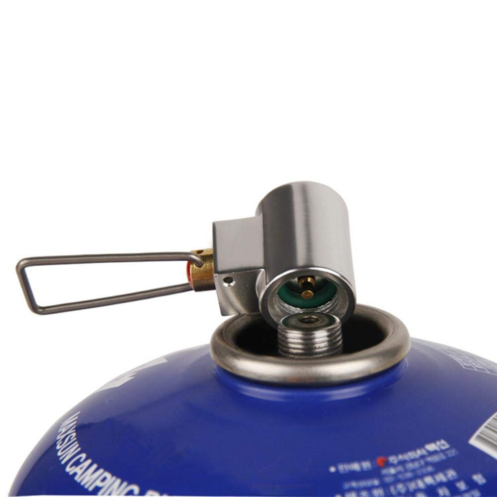 Flat Gas Tank Mutual Inflation Adapter Alian Outdoor Gas Cylinder Inflation Valve Joint Camping Stove Accessories