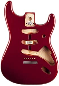 Fender Alder Stratocaster Body - Vintage Bridge Routing - Candy Apple