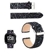 YJYdada Bling Glitter Leather Wrist Strap