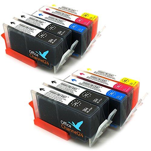10 Cartuchos de impresora compatible con HP 364/HP 364 XL ...