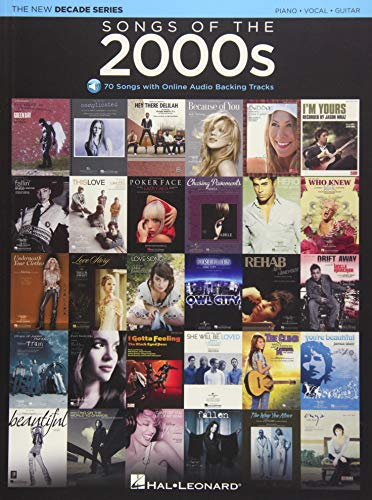 Songs of the 2000s: The New Decade Series with Online Play-Along Backing Tracks