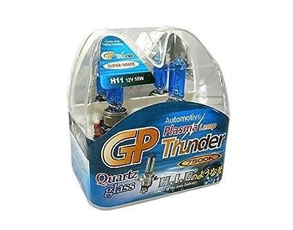 Amazon Com Gp Thunder H11 7500k 55w Standard Wattage Bulbs Headlamp