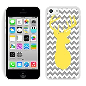 Fashion Style Iphone 5C TPU Case Chevron Iphone 5C TPU Case Christmas Deer White iPhone 5C Case 3