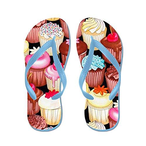 CafePress - Yumming Cupcake - Flip Flops, Funny Thong Sandals, Beach