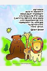 dyrenavn hva er navnet? håndlagde tegninger coloring bok for barn Læreren skriver ned navn lett kunstnerisk søt oppmuntre til uttrykk og kreativitet etter artist Grace Divine (Norwegian Edition) Paperback