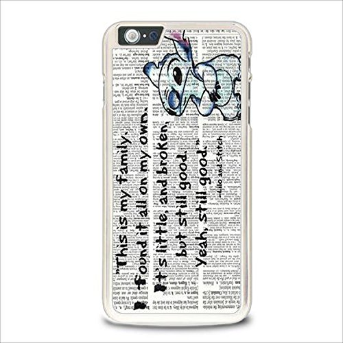 Coque,Lilo And Stitch Quotes Disney Case Cover For Coque iphone 5 / Coque iphone 5s