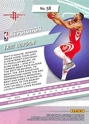Amazon.com: 2018-19 Revolution Basketball #58 Eric Gordon Houston Rockets Official NBA Trading Card By Panini: Collectibles & Fine Art