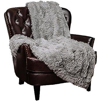 Amazon Com Chanasya Faux Fur Sherpa Throw Blanket Color