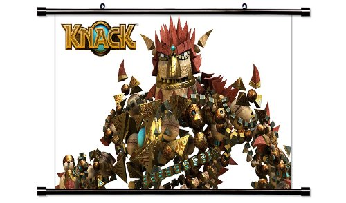 Knack Video Game Fabric Wall Scroll Poster  Inches