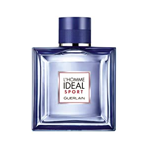 Guerlain L'Homme Ideal Sport Eau de Toilette Spray, 3.3 Ounce