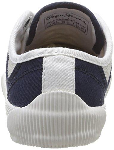 Pepe Jeans London GARETH TENNIS - zapatilla deportiva de lona niño blanco - Weiß (801FACTORY WHTE)