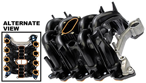 APDTY 726389 Upper Intake Manifold Assembly (Aluminum To Plastic With Integrated Gaskets) Fits Select 97-06 Fords (See Description For Details; Replaces 1L3Z9424BA, 3L3Z9424DA,F65Z9424C, XL3Z9424C) (1999 Ford F150 Intake Manifold)