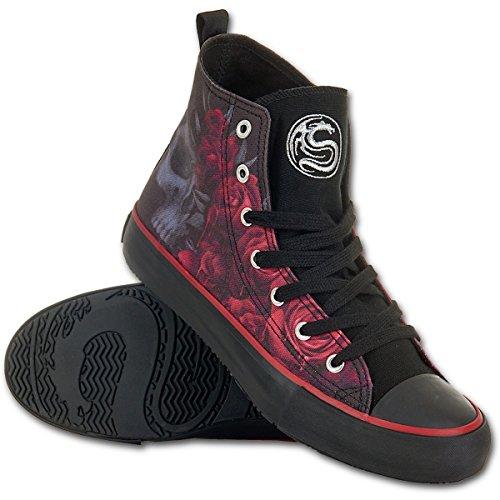 Spiral–Zapatos Nana–Blood Roses–Negro