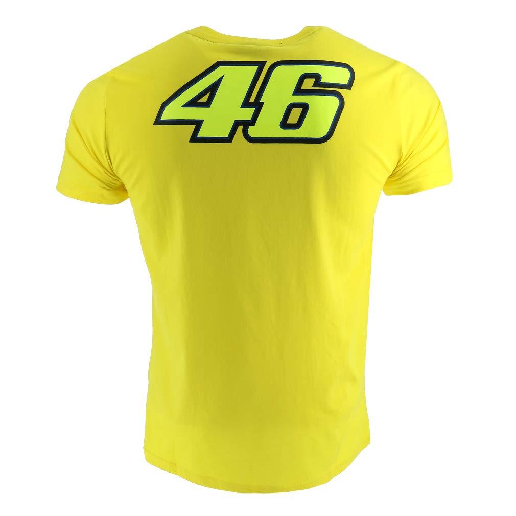 Valentino Rossi VR46 Moto GP The Doctor Amarillo Camiseta Oficial Nuovo