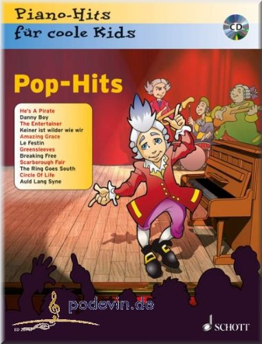 Pop Hits – Piano-Hits für coole Kids (Éxitos de piano para niños guays) – Partituras para Piano: Amazon.es: Instrumentos musicales