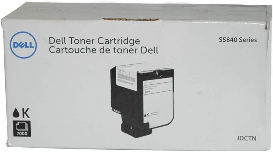 Dell JDCTN Black Toner Cartridge for S5840 Color Laser Printer