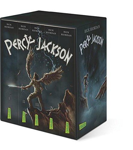 Percy-Jackson-Taschenbuchschuber (Percy Jackson ): Alle fünf Bände im Schuber Taschenbuch – 20. Oktober 2016 Rick Riordan Gabriele Haefs Carlsen 3551313695