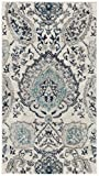 Cheap Safavieh Madison Collection MAD600C Cream and Light Grey Bohemian Chic Paisley Area Rug (2'3″ x 4′)