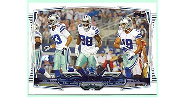 Dallas Cowboys 2014 Topps Team Card 271 Dez Bryant