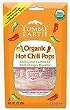 yummy earth chili - YUMMY EARTH LOLLIPOP,OG2,HOT CHILI, 3 OZ