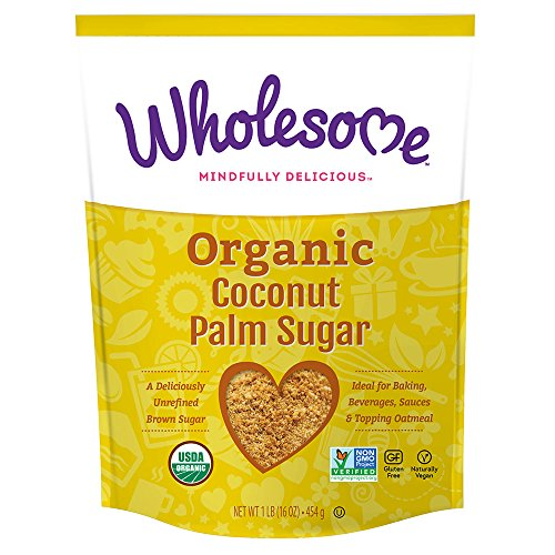 Wholesome Sweeteners Organic Coconut Palm Sugar, 16 oz (Pack of 1)