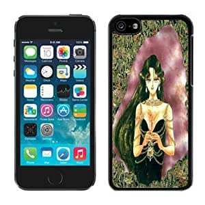 Beautiful DIY Designed With Sailor Pluto Cover Case For iPhone 5c Black Phone Case CR-544