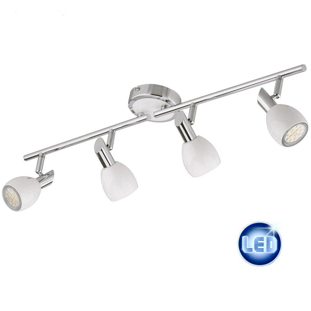 LED Deckenleuchte, Deckenlampe 4x3W GU10 LED Lampen, Darlux