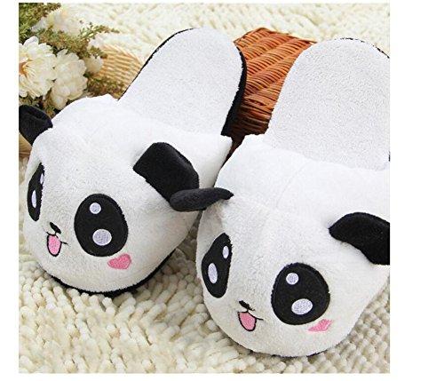 Panda Mignon Swallowuk B Doux Chaussons Unisexe Cotons Peluche en vYPOtPa4