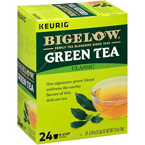 - Bigelow Green Tea Keurig K-Cups, 96 Count