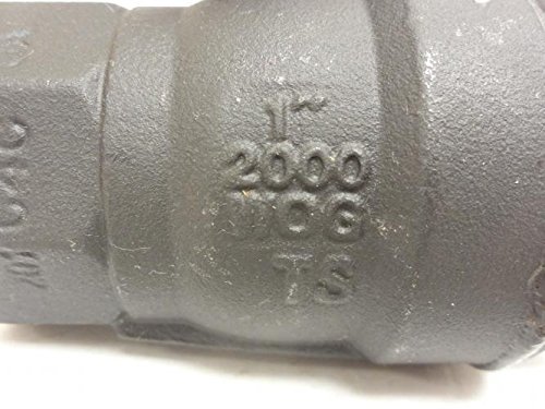 1 NPT Sharpe SV50B74010 Inline Ball Valve 2000WOG
