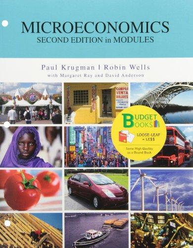 Microeconomics in Modules (Budget Books)