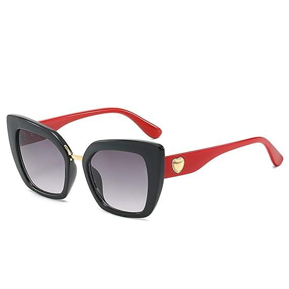 wwttoo Gafas de sol cuadradas Gafas de sol Love Cat Eyes ...