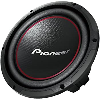 Pioneer TS-W254R 10-Inch Component Subwoofer with 1100 Watts Max Power