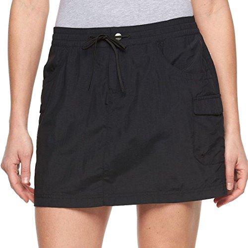 - Columbia Women's Amberley Stream Cargo Skort Skirt Size XS Black