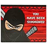 ninja desk - Ninja Warrior Party Supplies - Invitations (8)