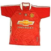 Men Manchester United Jersey Soccer Football Red