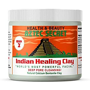Aztec Secret – Indian Healing Clay 1 lb – Deep Pore Cleansing Facial & Body Mask – The Original 100% Natural Calcium…