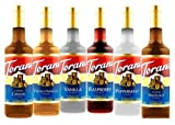 Torani Syrup Variety Pack, 25.4 Ounce (Pack of 6)