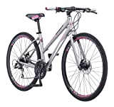 "Schwinn Phocus 1500 Flat Bar Road Women's Road Bike, 17"" / Small Frame Size, Matt Grey For Sale"