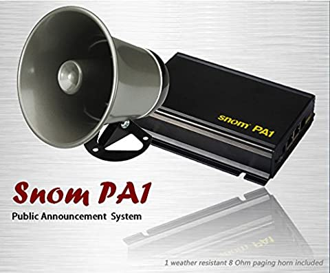 SNOM PA1 IP Phone Paging System with paging horn amplifier - Sip Business