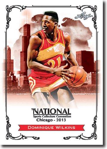 2013 Leaf National Redemption Exclusive NSCC Promo #DW1 Dominique Wilkins - 2006 HOF (Basketball)(Hawks / Clippers / Spurs/ Celtics / Magic)