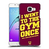 Head Case Designs Going To The Gym Funny Workout Statements Hard Back Case for Samsung Galaxy A5 (2016)